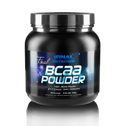 Final Nutrition Final BCAA Powder, 250g