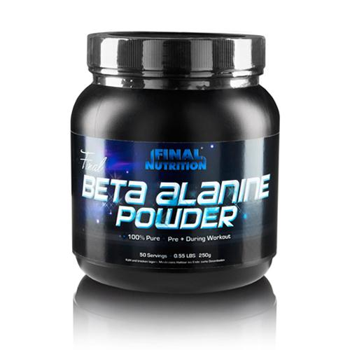 Final Nutrition Final Beta Alanine Powder, 300g