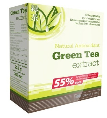 Olimp Green Tea Extract, 60 Kaps.