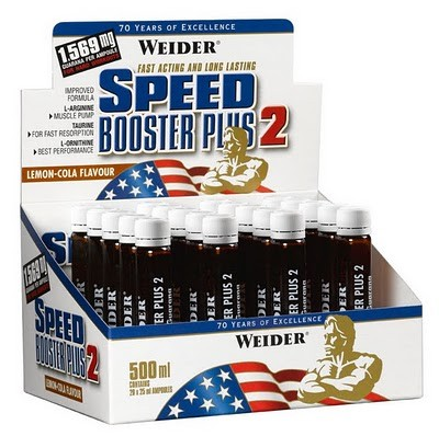 Weider Speed Booster Plus II, 1 Amp.