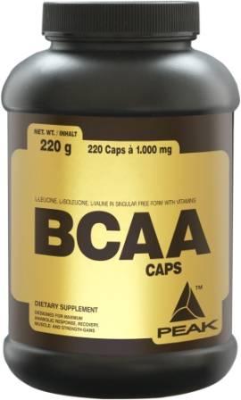 Peak BCAA Caps, 240 Kaps.