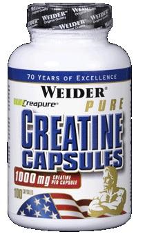 Weider Pure Creatine Capsules, 100 Kaps.