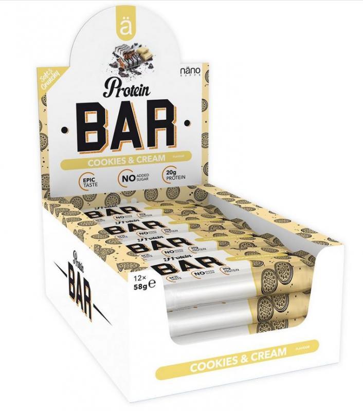 ä Protein Bar, 12x58g im Karton