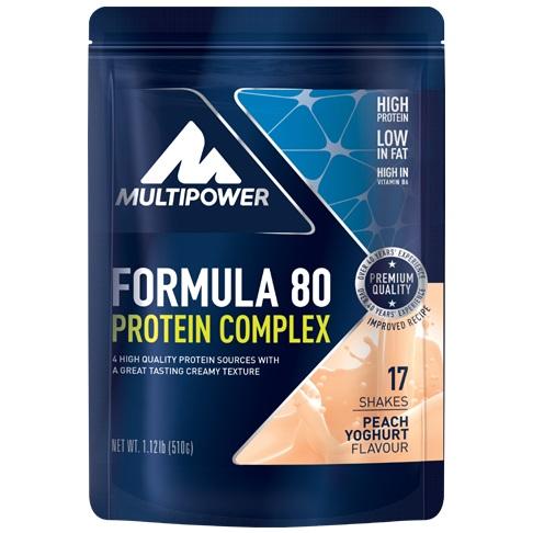 Multipower Formula 80 Protein Complex, 510g