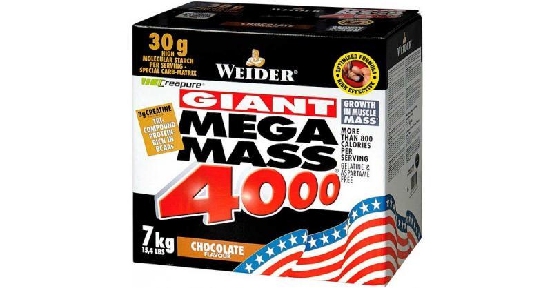 Weider Giant Mega Mass 4000, 7000g