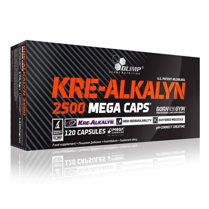 Olimp Kre-Alkalyn 2500 Mega Caps, 120 Kaps.