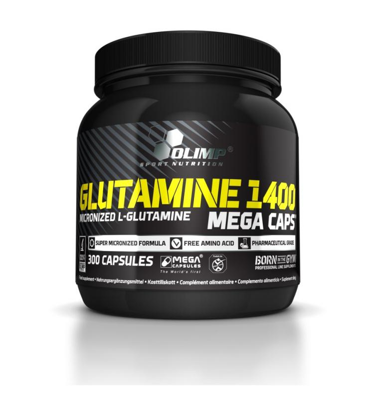 Olimp L-Glutamine Mega Caps, 300 Kaps.