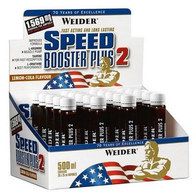 Weider Speed Booster Plus II, 1 Amp. Cola - Lemon