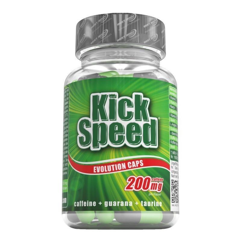 Best Body Nutrition Kick Speed Evolution, 80 Kaps. (MHD: 06/21)