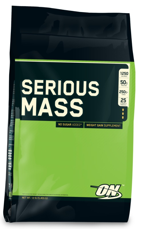 Optimum Nutrition Serious Mass, 5455g Vanilla