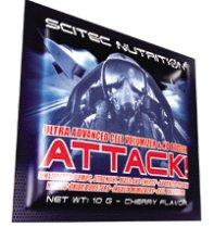 Scitec Nutrition Attack 2.0, 10g Kirsche