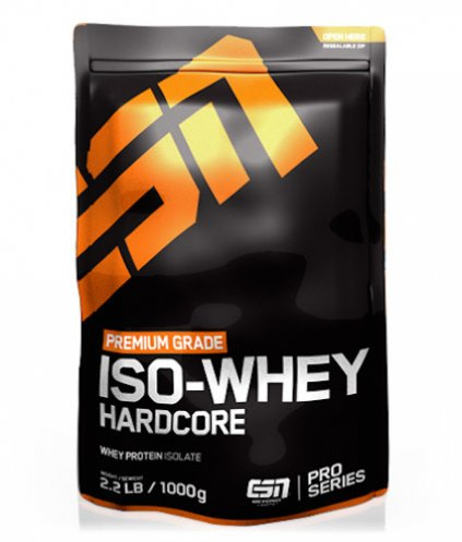 ESN Iso-Whey Hardcore, 1000g Blueberry Cheesecake