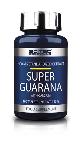 Scitec Essentials Super Guarana, 100 Tabl.