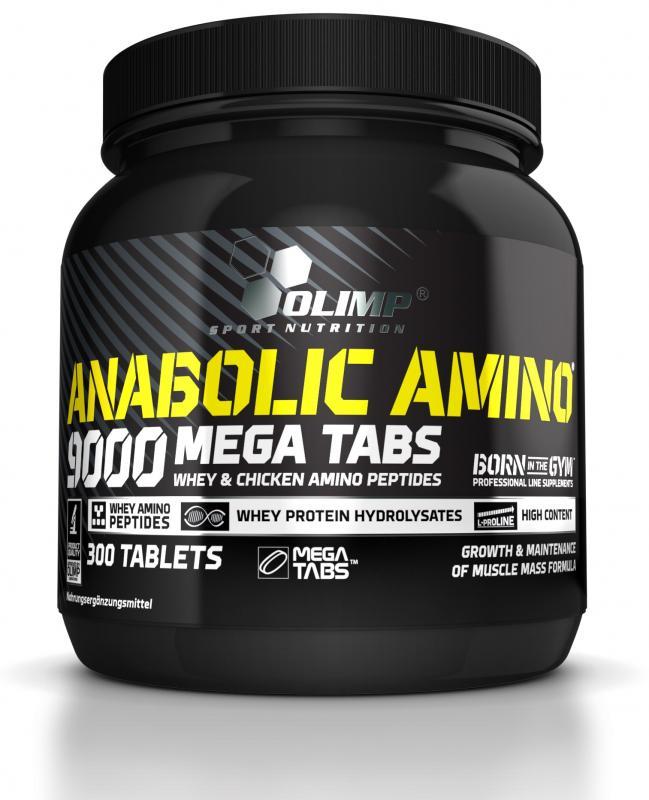 Olimp Anabolic Amino 9000, 300 Tabl.