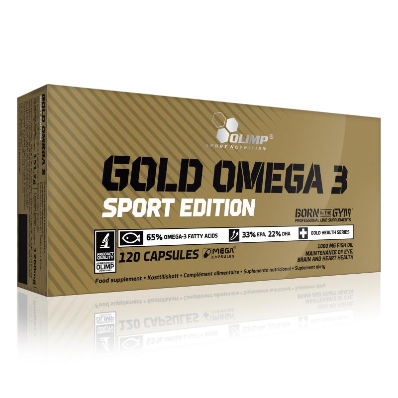 Olimp Gold Omega 3 Sport Edition, 120 Kaps.