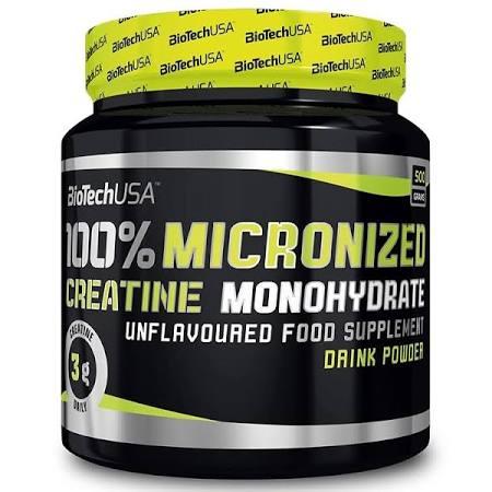 BioTech USA 100% Creatine Monohydrate, 500g