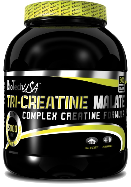 BioTech USA Tri-Creatine Malate, 300g