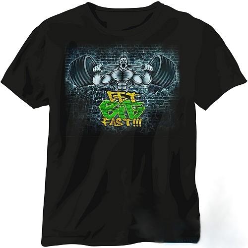 Scitec Nutrition T-Shirt Get Big Fast XXL