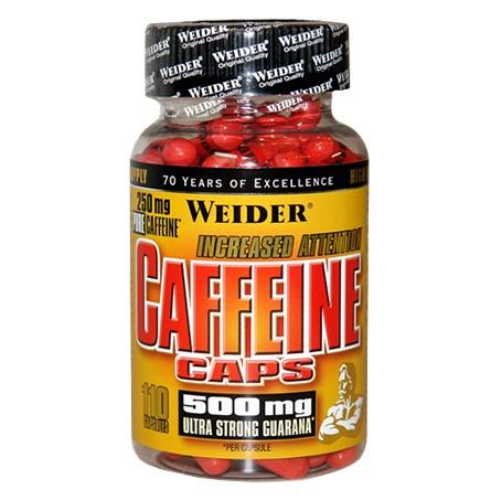 Weider Caffeine Caps, 110 Kaps.