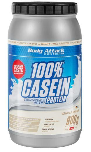 Body Attack Casein Protein, 900g
