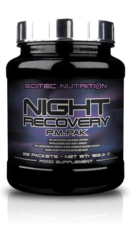 Scitec Nutrition Night Recovery P.M. PAK, 28 Packets