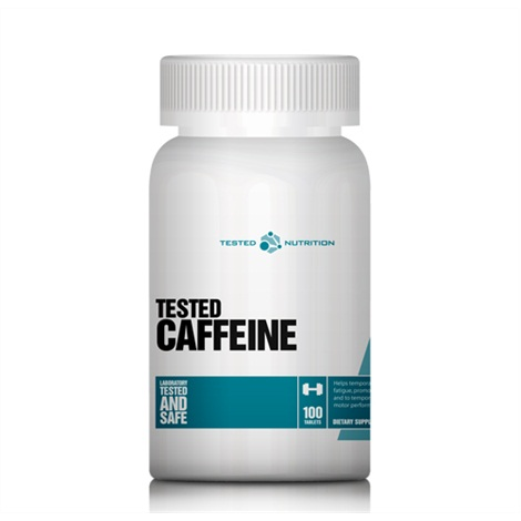 Tested Nutrition Tested Caffeine, 100 Tabl.