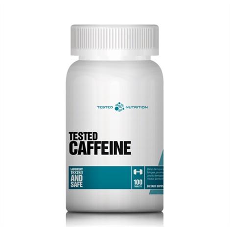 Tested Nutrition Tested Caffeine, 100 Tabl.
