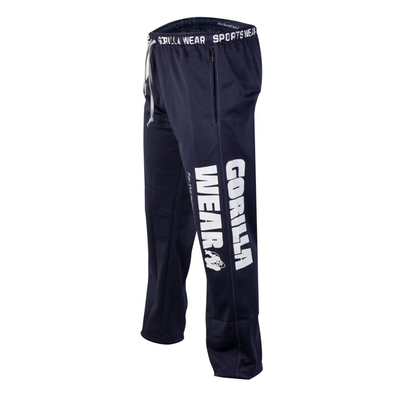 Gorilla Wear Logo Mesh Pant, Navy