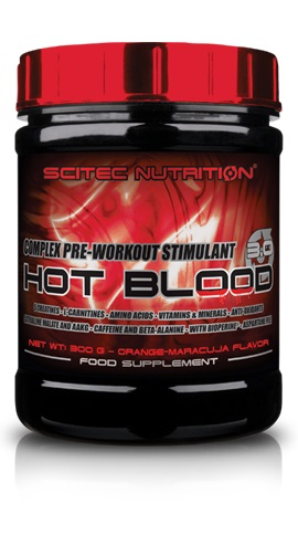 Scitec Nutrition Hot Blood 3.0, 820g