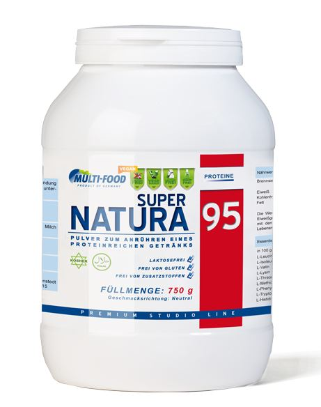 Multi Food Super Natura (Erbsenproteinisolat), 750g