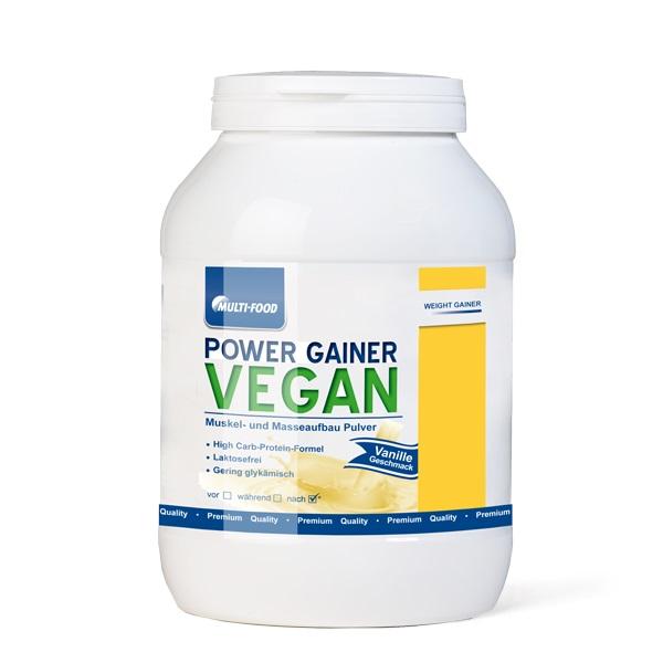 Multi Food Power Gainer Vegan, 1000g