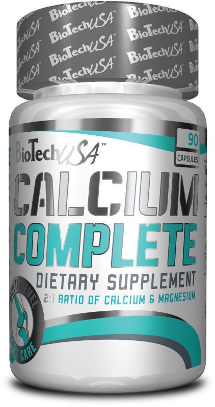 BioTech USA Calcium Complete, 90 Kaps.