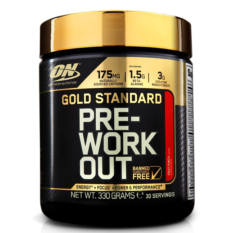Optimum Nutrition Gold Standard Pre-Workout, 330g (MHD Ware)