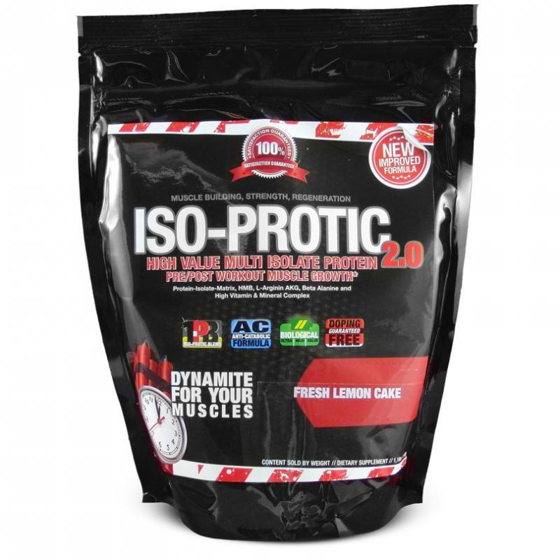 BlackLine 2.0 Iso-Protic 2.0, 500g (MHD Ware)