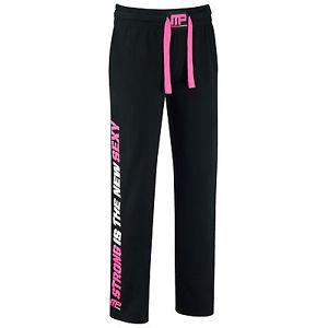 MusclePharm Womens Sweat Pant , Schwarz/Pink