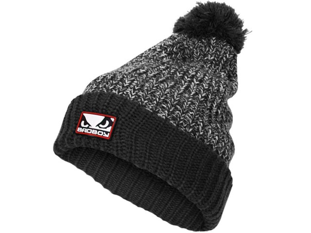 Bad Boy Fleece Bobble Beanie