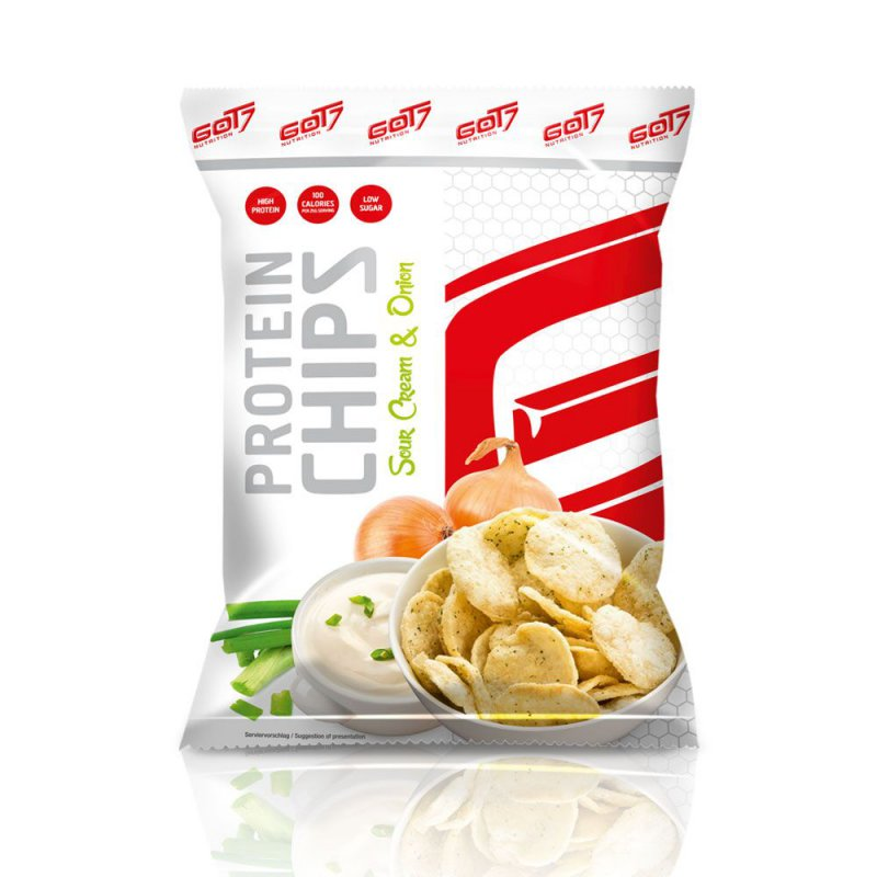 GOT7 Nutrition Protein Chips, 50g Sour Cream & Onion