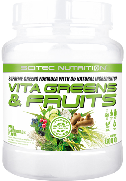 Scitec Nutrition Vita Greens & Fruits, 600g