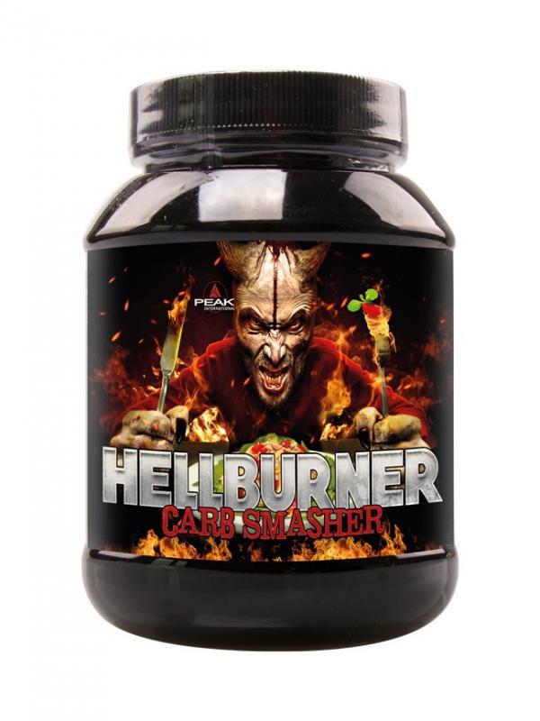 Peak Hellburner Carb Smasher, 120 Kaps.
