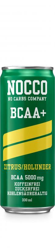 Nocco Bcaa, 330ml Citrus/Elderflower