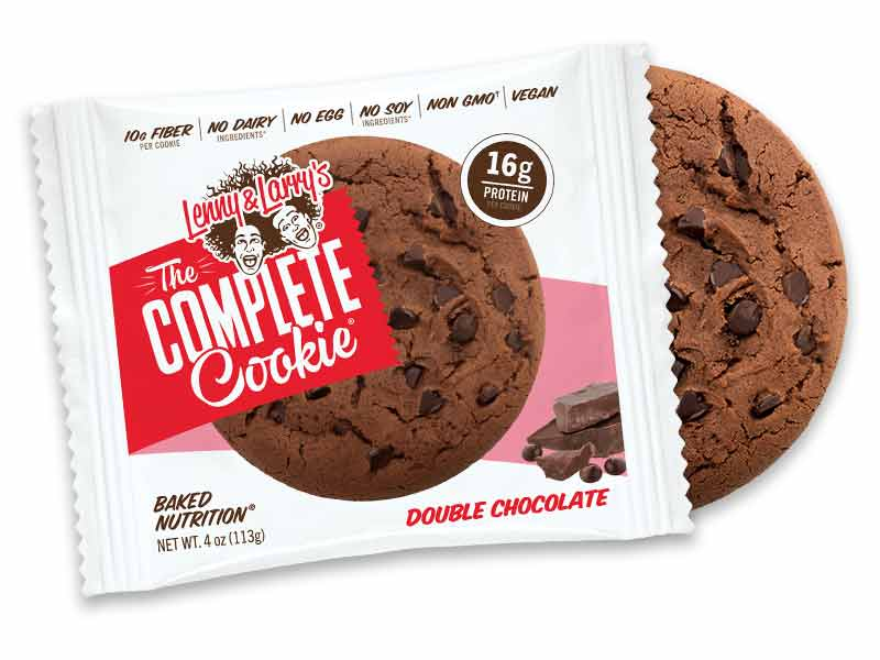 Lenny & Larry`s Complete Cookie, 113g Double Chocolate