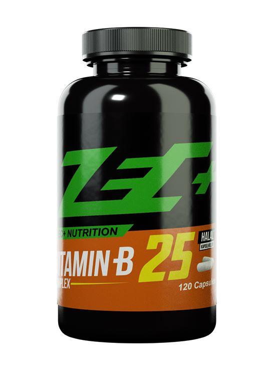 Zec+ Nutrition Vitamin B 25, 120 Kaps.