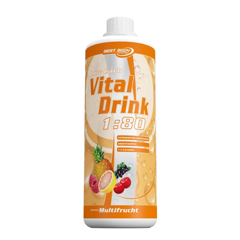 Best Body Nutrition Vital Drink, 1000ml Energy