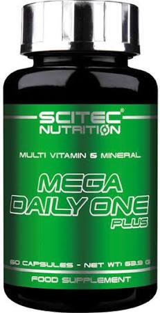 Scitec Nutrition Mega Daily One Plus, 60 Kaps.