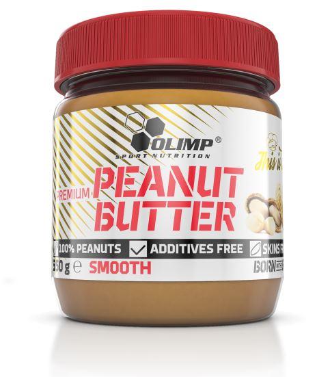Olimp Premium Peanut Butter, 350g Crunchy