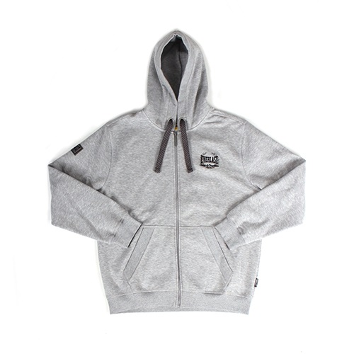 Everlast Zip Through Hooded Sweat, Grey
