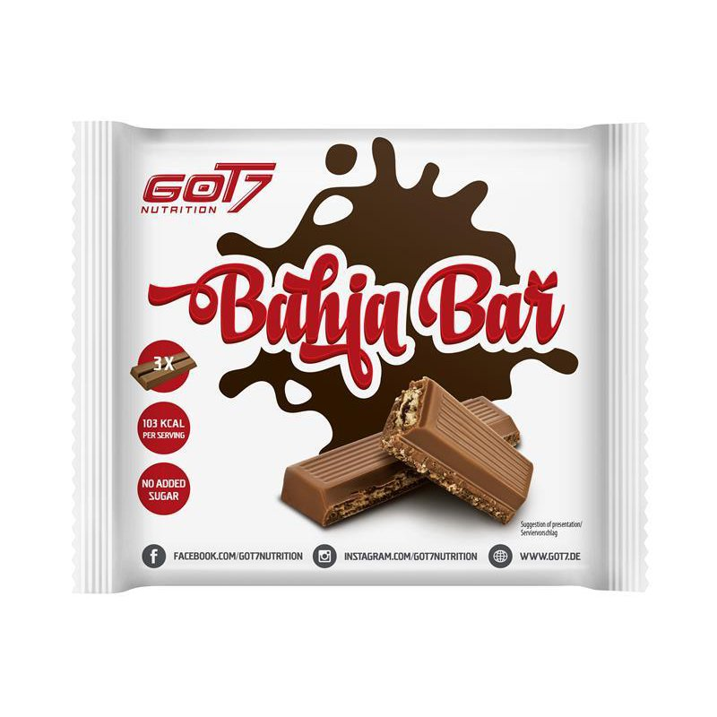 GOT7 Nutrition Bahia Bar, 3 Riegel, 64.5g