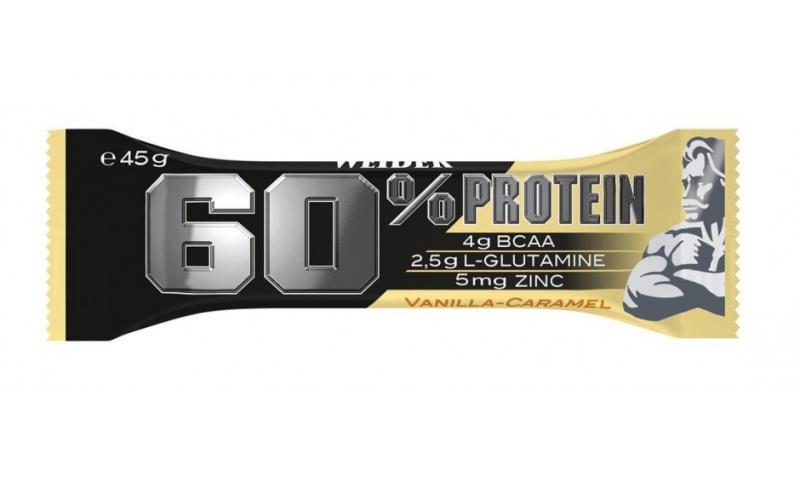 Weider 60% Protein Bar, 1 Riegel, 45g Vanilla Caramel