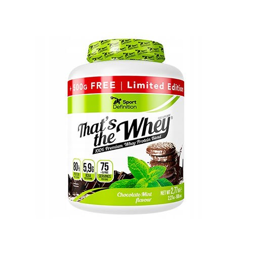 SportDefinition Thats the Whey, 2770g