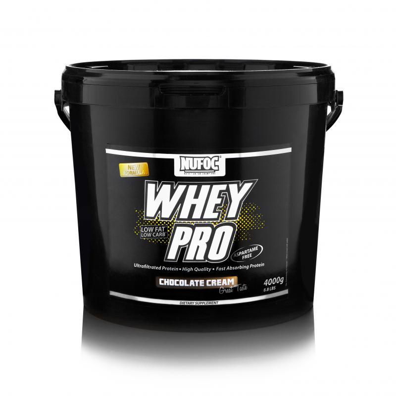Nufoc Whey Pro, 4000g Chocolate Cream